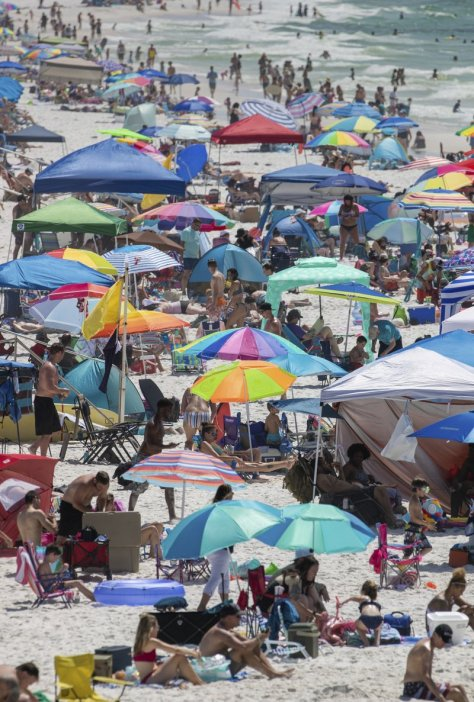 New CDC Survival Rate of COVID is 99.8% Beach